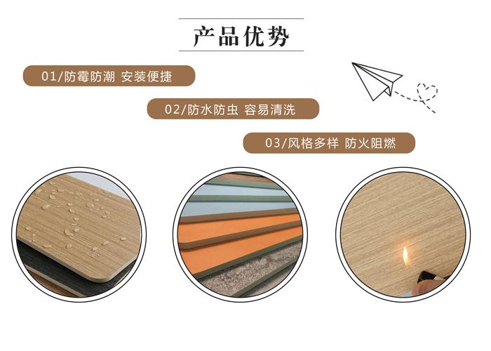 竹木纖維實心板